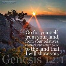 genesis 12;1